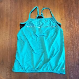 Nike Dri-Fit tank top with built in bra size M